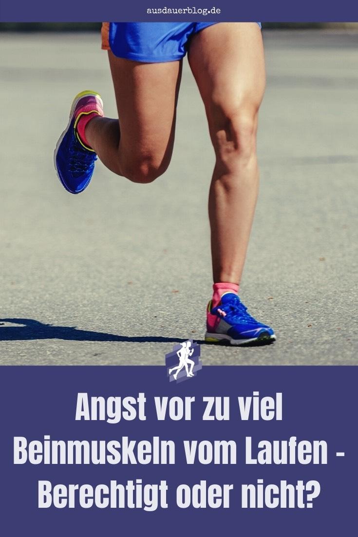 Angst vor zu vielen Beinmuskeln haben oft vor allem Frauen. Hier erfährst du, ob man durchs Joggen wirklich so viele Beinmuskeln aufbaut.