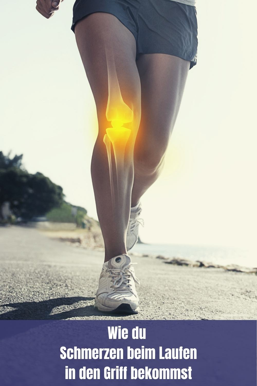 Was kannst du selber gegen deine Schmerzen beim Laufen tun?