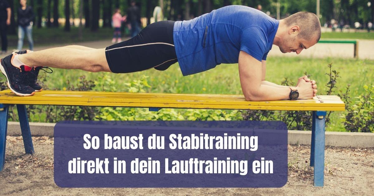 Stabitraining oder Laufen? Wie du Stabitraining direkt mit deinem Lauftraining verbinden kannst und warum es sich wichtig ist.