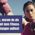 3 Gründe, warum du als LäuferIn mit dem Fitness-Boxen anfangen solltest